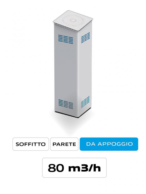 Purificatore d'aria per grandi ambienti AirO' Plus Cappe Baraldi Milano
